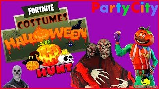 Fortnite Costumes! Party city Halloween|| Store hunt