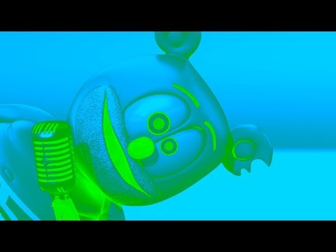 BLUE & GREEN Gummibär REQUEST VIDOE Patois HD Gummy Bear Song