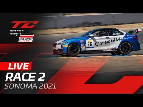 ブランパンGTワールドチャレンジ・アメリカ(ソノマ)TC レース2 無料ライブ配信動画