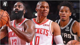 San Antonio Spurs vs Houston Rockets - Full Game Highlights   October 16, 2019 NBA Preseason