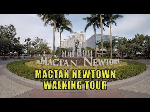 Mactan Newtown Walking Tour.