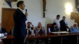 preview picture of video 'PREMIO SCRAPANTE II^ EDIZIONE SABATO 28 SETTEMBRE 2013, SALA CONSILIARE COMUNE DI MARTA (VT)'