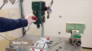 Parkside Bench Drill PTBMOD 710 A1  Unboxing and Test