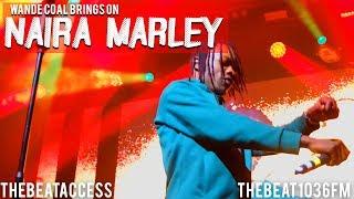 Naira Marley Goes SHAKU CRAZY At Wande Coal Concert | THEBEATACCESS