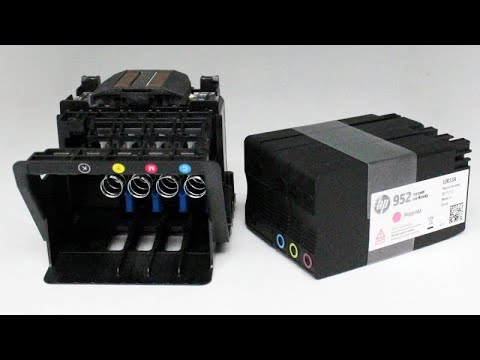 Download Hp Officejet 8610 How To Clean Printhead Not Printing Bla
