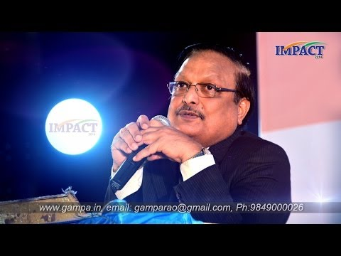 Interview|Yandamuri Veerendranath |TELUGU IMPACT Hyd 2014-Part1