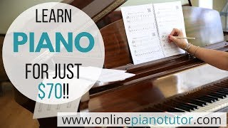 Learn piano for $70? Beginner to Intermediate level in 40 lessons!