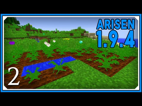 Minecraft Mods: ARISEN 1.9.4 Modpack | Agricultural Expansion Mod | E02 (Modded Single-Player)