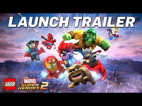 星際異攻隊蓄勢待發!《樂高:驚奇超級英雄2》發售預告片出爐!
