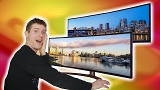 "I can never go back... - LG & Dell's 49"" 32:9 Monitors Reviewed"