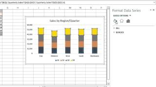 How to Change the Color Coding on a Microsoft Excel Graph Legend : MIcrosoft Excel Tips