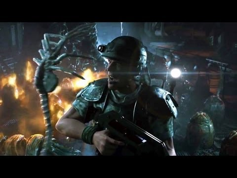 Trailer de Aliens: Colonial Marines