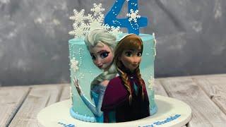 Disney Frozen Elsa & Anna Cake | Frozen 2 Cake