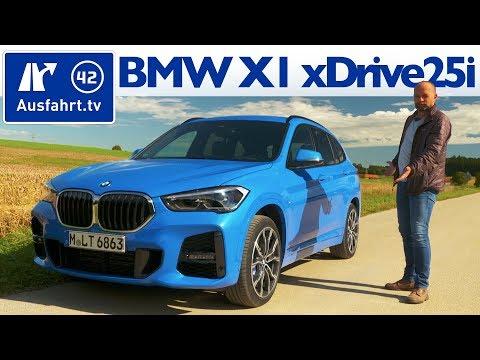 2019 BMW X1 xDrive25i M Sport F48 LCI - Kaufberatung, Test deutsch, Review, Fahrbericht Ausfahrt.tv