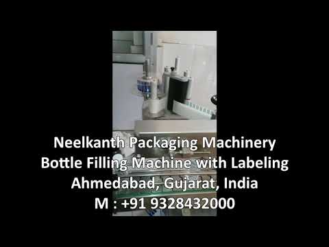 Automatic 24 BPM Bottle Filling Machine