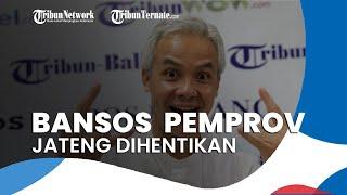 Pemprov Jawa Tengah Hentikan Bansos Covid-19, Ganjar Pranowo: Programnya Sudah Selesai