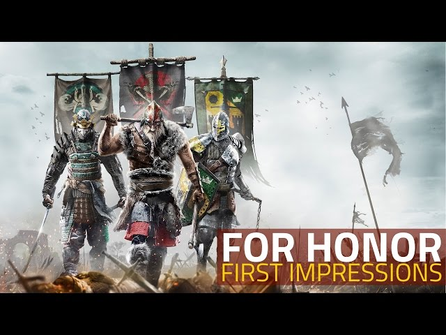 For Honor Is Out on PC, PS4, and Xbox One - Here's