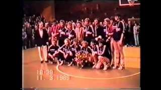 preview picture of video 'WŁÓKNIARZ Pabianice - SPÓJNIA Gdańsk :: finał MP 1989 w koszykówce kobiet'