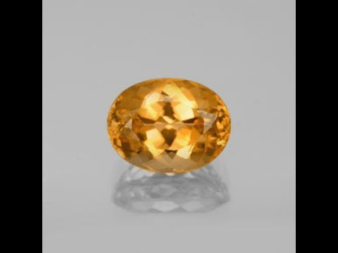 Calibrated Imperial Topaz Gemstone Video Review – GemSelect