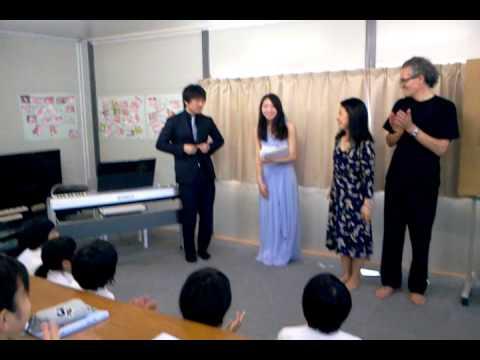 戸倉中学校仮設 絵と音楽でつなぐ橋(1)