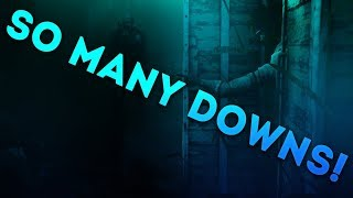 Dead by Daylight WITH...SURVIVOR! - SO MANY DOWNS!