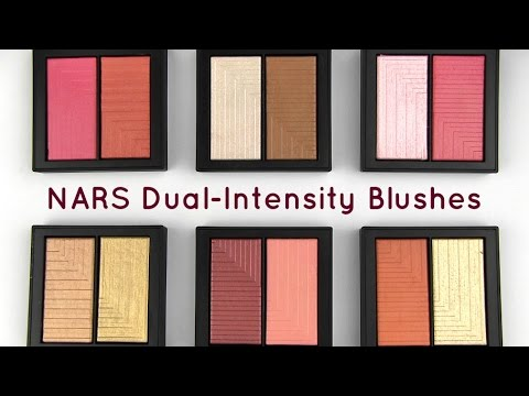 NARS Dual-Intensity Blushes: Live Swatches & Review