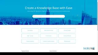 Responsive Knowledge Base and FAQ HTML Template        Jimmy Amos