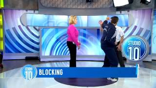 Self Defence lessons on Studio 10