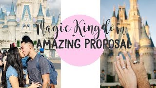 DISNEY WORLDS MAGIC KINGDOM || + BEST PROPOSAL EVER.