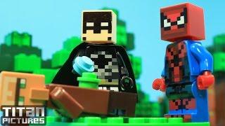Lego Batman Spiderman - Minecraft Lego