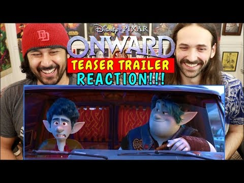 ONWARD | Disney Pixar | TRAILER REACTION!!!