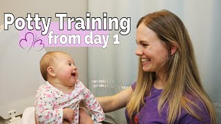 Infant Potty Training! // Our EC Experience & Step-by-Step Demonstration (Elimination Communication)