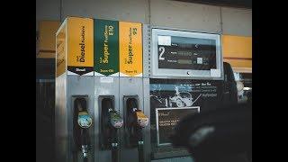 Изменение цен на бензин в течении дня в Германии
