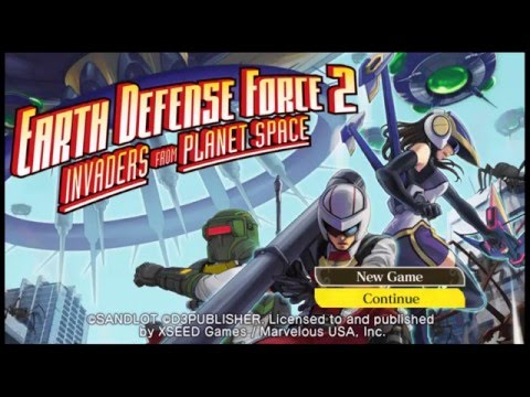 Earth Defense Force 2: Invaders from Planet Space (PS Vita | PSTV) Video Review