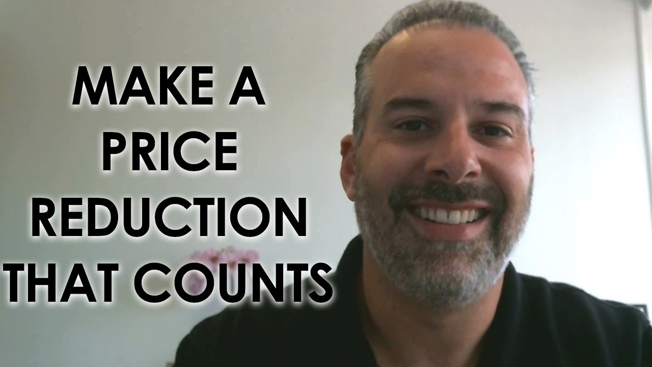 How Can You Make a Price Reduction That Counts?