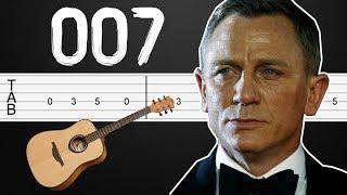 James Bond Theme (007) Guitar Tabs, Guitar Tutorial, Guitar Lesson