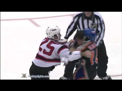 Cam Janssen vs Micheal Haley