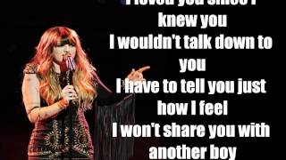 Juliet Simms - Roxanne Lyrics(The Voice[Studio Version])
