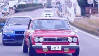 JDM EXPO: Skyline GTR R34 Nur vs. Hakosuka GTR!