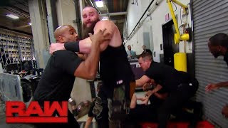 Braun Strowman wreaks havoc backstage: Raw, Jan. 15, 2018