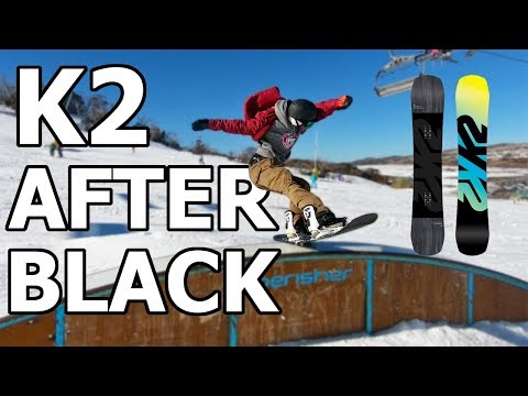 K2 Afterblack Snowboard Review