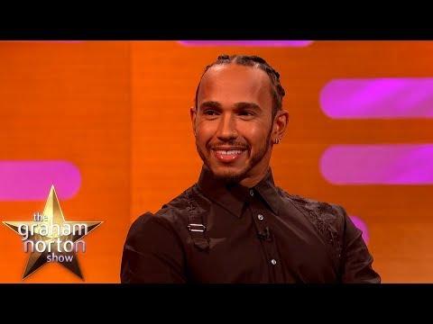 Lewis Hamilton o své váze a o oslavách po závodech - The Graham Norton Show