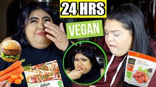 We Tried being Vegan for 24 Hours  - YouTube