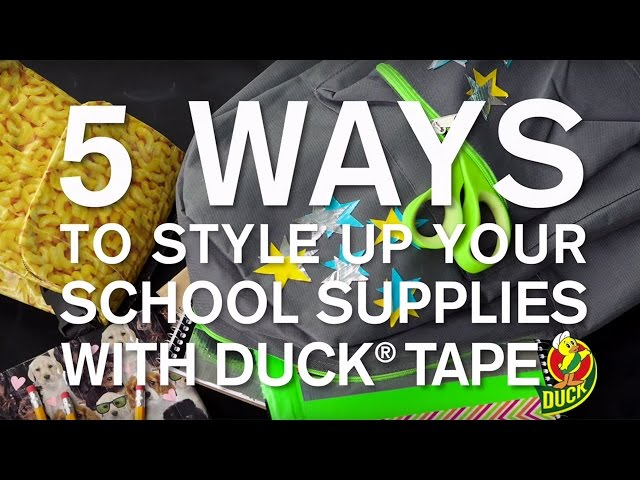 Duck Tape - Prints & Solids