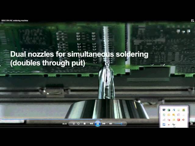 SPA NC Soldering machine