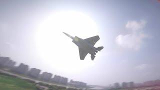 F 15 JET & Drone FPV