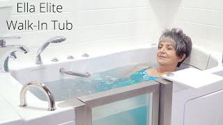 Ella Elite Walk-In Tub Video