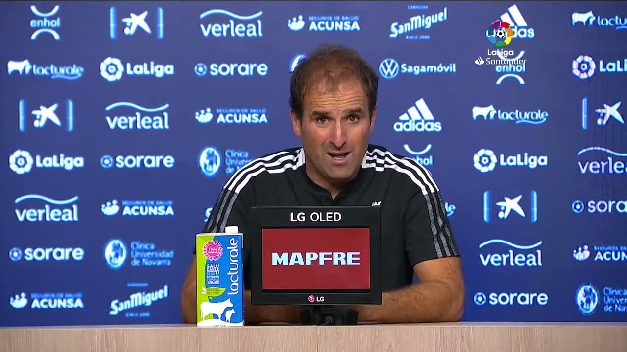 Rueda de prensa CA Osasuna vs Real Betis