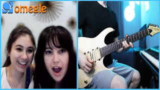 Playing Guitar on Omegle but I play MEME songs