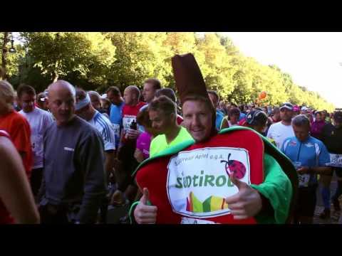 Südtiroler Apfel am Berlin Marathon